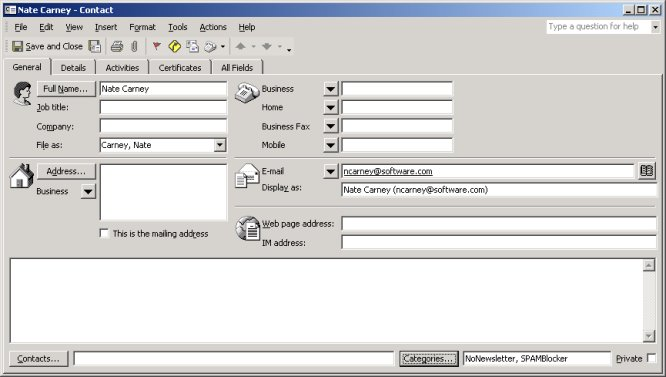Manipulating Outlook Data from Access - vb123 com